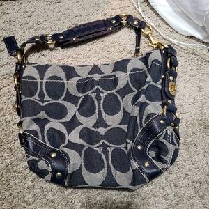 Handbags - Coach denim purse
